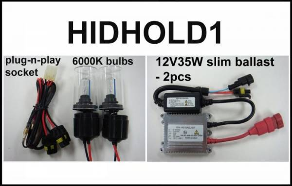 Eagle Eye Lights - Eagle Eye Lights HIDHOLD1 1999-2007 Honda TRX400EX 35W HID Kit