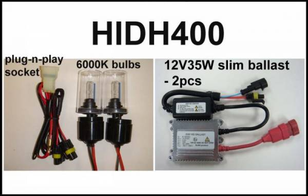 Eagle Eye Lights - Eagle Eye Lights HIDH400 2008-2012 Honda TRX400 35W HID Kit