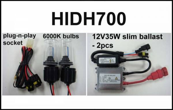Eagle Eye Lights - Eagle Eye Lights HIDH700 2008-2009 Honda TRX700 35W HID Kit