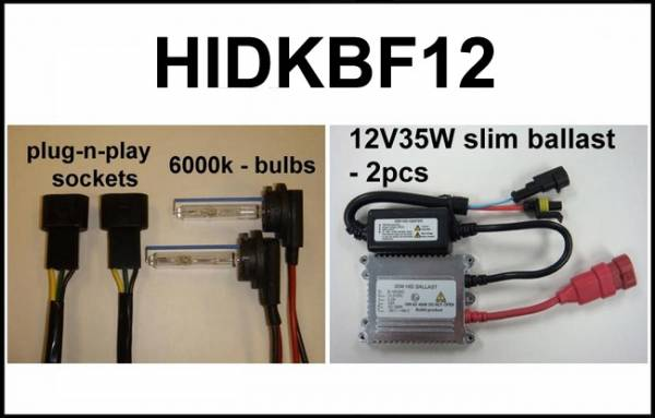 Eagle Eye Lights - Eagle Eye Lights HIDKBF12 2012 Kawasaki Brute Force 35W HID Kit