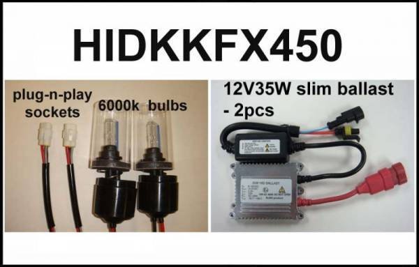 Eagle Eye Lights - Eagle Eye Lights HIDKKF450 2008-2012 Kawasaki KFX450 35W HID Kit