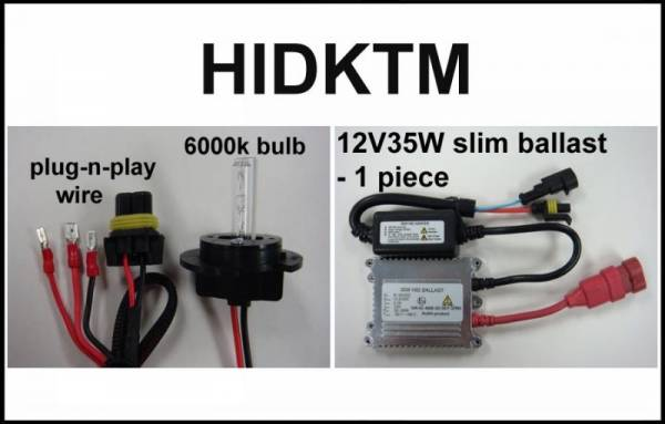 Eagle Eye Lights - Eagle Eye Lights HIDKTM 2008-2009 KTM 450/505/525 ATVS & Dirt Bikes 35W HID 1 Bulb Kit Kit