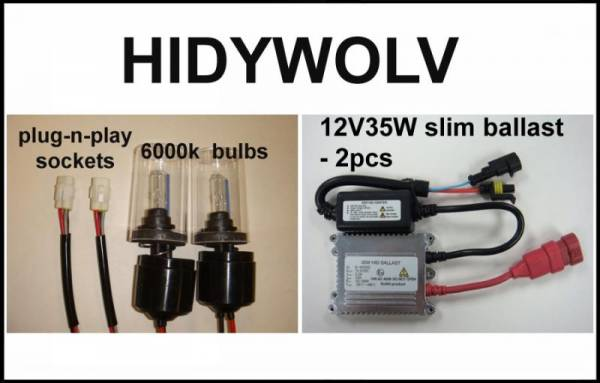 Eagle Eye Lights - Eagle Eye Lights HIDYWOLV 2002-2010 Yamaha Wolverine 350 & 450 35W HID Kit
