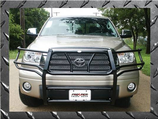 Frontier Gear - Frontier Gear 200-60-4003 Grille Guard Toyota Tundra (Crew Cab only) & Sequoia (2004-2006)