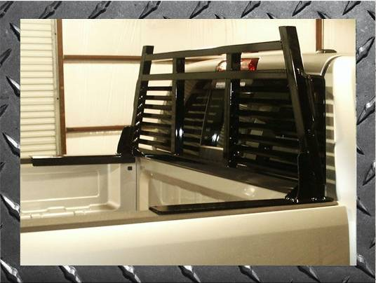 Frontier Gear - Frontier Gear 110-18-0006 2HR Headache Rack Ford F150F350 Full Louvered (1980-1997)