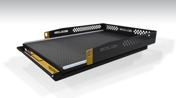 Bedslide - Bedslide 1500 Pro CG 15-6347-CG Dodge Ram 1500 5.7' Shortbed w/RamBox 2009-2012
