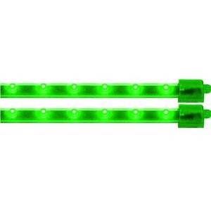 "Vision X - Vision X HIL-M12G Twin Pack LED Bars 12"" Green"