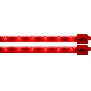 "Vision X - Vision X HIL-M12R Twin Pack LED Bars 12"" Red"