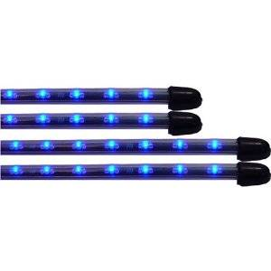 Vision X - Vision X HIL-UBLUE Flexible LED Under Car Kit Blue
