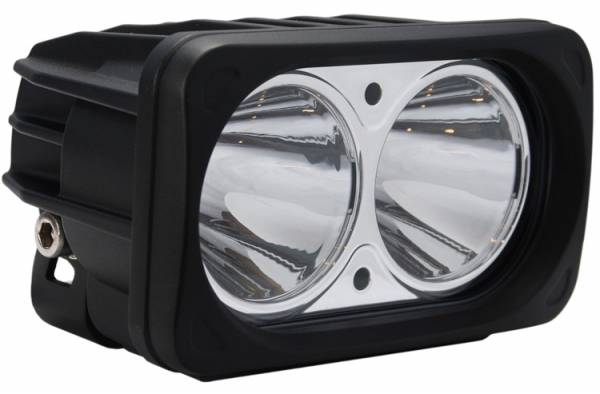 Vision X - Vision X MIL-OP210 Optimus Series Prime Black Two 10-Watt LEDs Light 10 Degree Beam