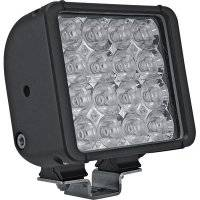 "Vision X - Vision X XIL-UF32A 3.4"" X 1.9"" Utility Flood Light With 32 Amber LEDs Single Stud Mount Black Housing"
