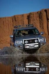 ARB 4x4 Accessories - ARB 3415120 Front Deluxe Bull Bar Winch Bumper Toyota Land Cruiser 2008-2011