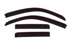 Auto Ventshade - Auto Ventshade 194924 Ventvisor In-Channel Deflector 4 pc.