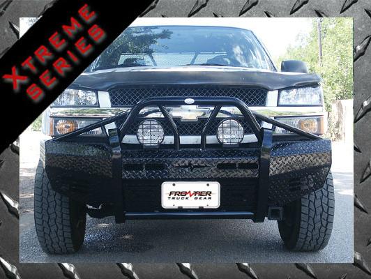 Frontier Gear - Frontier 600-29-9005 Xtreme Front Bumper Chevy Silverado 1500 1999-2002