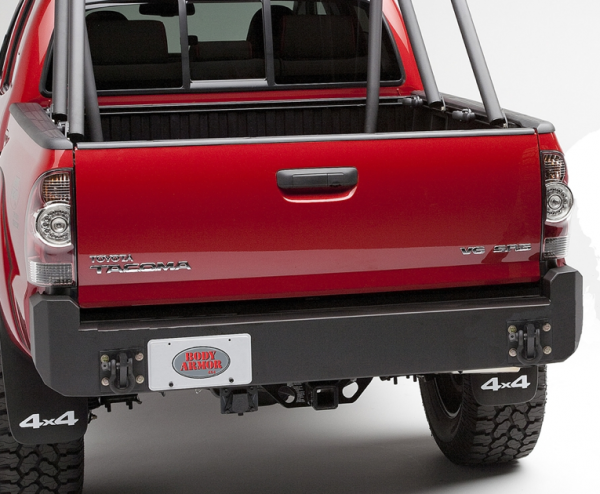 body armor tc 2961 rear bumper toyota tacoma 2005 2015. Black Bedroom Furniture Sets. Home Design Ideas