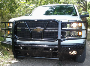 Frontier Gear Front Bumper Replacements - GMC - Frontier Gear - Frontier 300-31-4008 Front Bumper GMC Sierra 1500 2014-2015