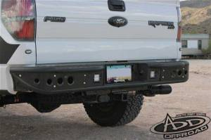 Addictive Desert Designs - Ford F150 2011-2014 Ecoboost - Addictive Desert Designs - ADD R012231280103 Venom Rear Bumper Ford Ecoboost F150 2011-2014