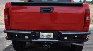 "Addictive Desert Designs - Chevy Silverado 1500 2007-2013 - Addictive Desert Designs - ADD R3023012801NA Dimple ""R"" Rear Bumper Chevy Silverado 1500 2007-2013"