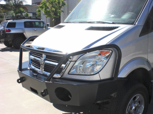 Van Bumpers - Aluminess - Dodge Sprinter 2007-2013