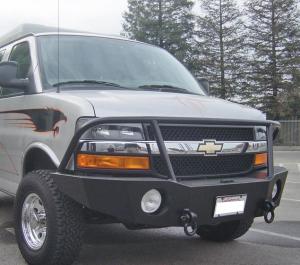Truck Bumpers - Aluminess - Chevy Express Van 2003-2018