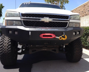 Truck Bumpers - Road Armor Stealth - GMC Sierra 2500HD/3500 2003-2006