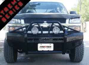 Chevy Silverado 2500/3500 - Chevy Silverado 2500HD/3500 2003-2006 - Frontier Gear - Frontier 600-20-3005 Xtreme Front Bumper Chevy Silverado 2500HD/3500 2003-2006