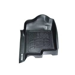 Westin - Westin 72-110039 Sure Fit Floor Liners Front Ford F-250/350/450/550 Reg Cab/Super Cab/Crew Cab 2012-2016 (w/Driver side foot pad)