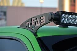 Exterior Lighting - Light Bar Mounting Kit - N-Fab - N-Fab F0950LR-TX Roof Mounted Light Brackets