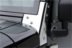Body Part - Glass and Window - Smittybilt - Smittybilt 7481 Windshield Bracket