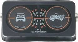 Inclinometer - Inclinometer - Smittybilt - Smittybilt 791005 Clinometer Jeep Graphic