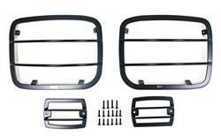 Exterior Accessories - Exterior Lighting - Smittybilt - Smittybilt 5659 Euro Headlight Guard