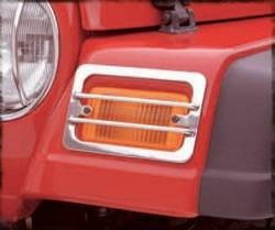 Exterior Accessories - Exterior Lighting - Smittybilt - Smittybilt 5470 Euro Turn Signal Guard
