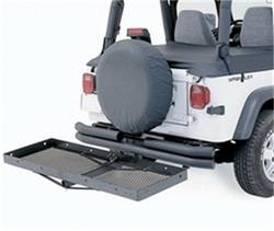 Bumper Accessories - Bumper Cargo Carrier - Smittybilt - Smittybilt 7700 Receiver Rack