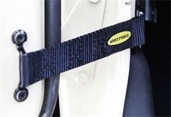 Door Hardware - Door Check Strap - Smittybilt - Smittybilt 769401 Adjustable Door Strap