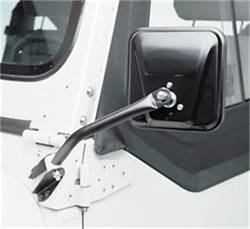 Exterior Accessories - Mirrors - Smittybilt - Smittybilt 7617 Side Mirror Kit