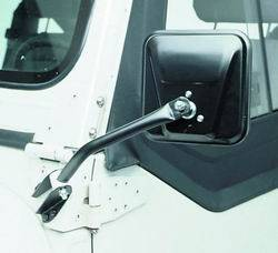 Door Mirror - Door Mirror Kit - Smittybilt - Smittybilt 7417 Side Mirror Kit