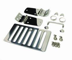 Hood Accessories - Hood Latch Assembly - Smittybilt - Smittybilt 7465 Complete Hood Kit