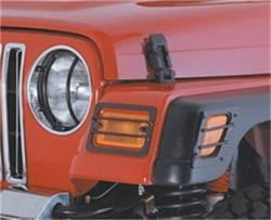 Exterior Accessories - Exterior Lighting - Smittybilt - Smittybilt 5690 Euro Turn Signal Guard