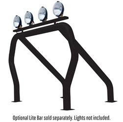 Exterior Lighting - Light Bar - Go Rhino - Go Rhino 9009560SSB Classic Off-Road Style Bed Bars Kit