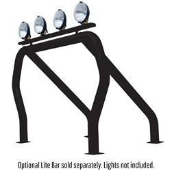 Exterior Lighting - Light Bar - Go Rhino - Go Rhino 9009560SSB RHINO! Bed Bar Main bar + Kickers Chevrolet/GMC C / K Series 1988-1998