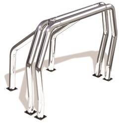 Exterior Lighting - Light Bar - Go Rhino - Go Rhino 9009560DSC Classic Off-Road Style Bed Bars Kit