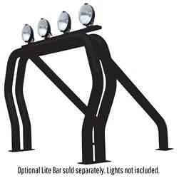 Exterior Lighting - Light Bar - Go Rhino - Go Rhino 9009560DSB RHINO! Bed Bar Main bar + Kickers Chevrolet/GMC C / K Series 1988-1998
