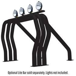 Exterior Lighting - Light Bar - Go Rhino - Go Rhino 9009560TSB RHINO! Bed Bar Main bar + Kickers Chevrolet/GMC C / K Series 1988-1998