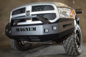 ICI Magnum Front Bumper - Dodge - ICI Innovative Creations - ICI FBM81DGN-PR Non-Winch Front Bumper with Pre Runner Bar Dodge RAM 1500 2009-2012
