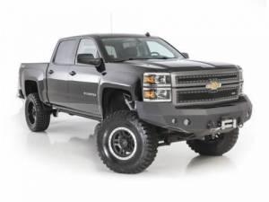 Truck Bumpers - Smittybilt - Smittybilt 612822 M1 Front Bumper Chevy Silverado 1500 2014-2015