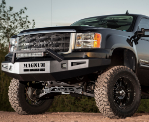 ICI Magnum Front Bumper - GMC - ICI Innovative Creations - ICI FBM66CHN Non-Winch Front Bumper GMC Sierra 1500 2007-2013