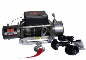 ENGO Winch - ENGO 77-09000S E9000S 9K Winch with Synthetic Rope