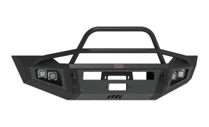Truck Bumpers - Bodyguard - Bodyguard A2FGF112X Sport A2 Winch Front Bumper Ford F250/F350 2011-2016