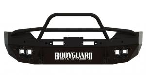 T2 Series Front Bumper - Dodge - Bodyguard - Bodyguard T2FGD102X Sport T2 Series Front Bumper Dodge 2500/3500 without Sensors 2010-2015