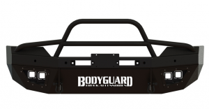 T2 Series Front Bumper - Dodge - Bodyguard - Bodyguard T2FGD162X Sport T2 Series Front Bumper Dodge 2500/3500 with Sensors 2016-2017
